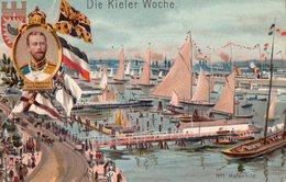 KIEL -  DIE KIELER WOCHE  -   LA SEMAINE DE  KIEL  -    Juin 1906   -   PRINZ HEINRICH VON PREUSSEN - Kiel