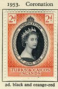 1953 - TURKS & CAICOS - Catg. Mi. 160 - LH - (SAR3010) - Turks E Caicos
