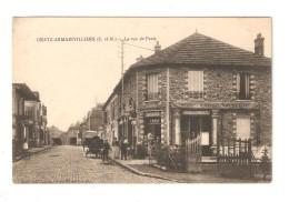 CPA : 77 GRETZ   La Rue De Paris - Gretz Armainvilliers