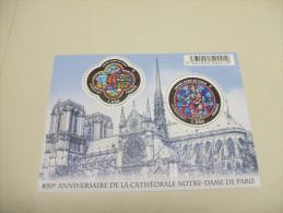 FRANCE - Bloc Feuillet BF Vitraux Notre-Dame De Paris (2013) N** - Neufs