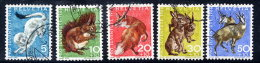 SWITZERLAND 1966 Pro Juventute Set Used.  Michel 845-49 - Pro Juventute