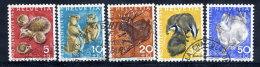 SWITZERLAND 1965 Pro Juventute Set Used.  Michel 826-30 - Pro Juventute