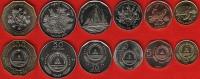 Cape Verde Set Of 6 Coins: 1-100 Escudos 1994 UNC - Cap Vert