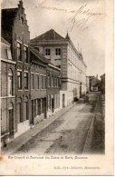 Mouscron - Rue Leopold Et Pensionnat Des Dames De Marie (2 Scans) - Mouscron - Möskrön