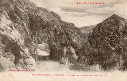 CPA LES COLS DES VOSGES - DE GERARDMER A MUNSTER - TUNNEL DE KRAPPENFELS - France