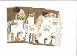 Raphael KIRCHNER  --Les Marionnettes - Série De 6 Cartes - Voir 8 Scans - Kirchner, Raphael