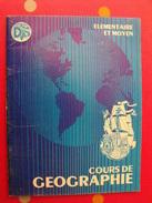 Cours De Géographie élémentaire Et Moyen. Sur Le Thème De L'ile Et La République D'Haïti. 1973. Une Curiosité. - Géographie