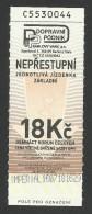 Czech Republic, Karlovy Vary, Imperial, Funicular Ticket, Used. - Tram