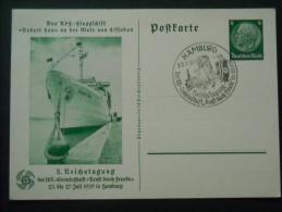 DR Ganzsache P 240 Mit Sonderstempel - Ganzsachen