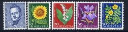 SWITZERLAND 1961 Pro Juventute Set  MNH / **.  Michel 742-46 - Pro Juventute