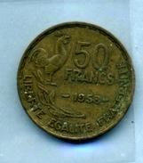 1953 50 Francs TYPE GUIRAUD Bronze-al - M. 50 Franchi