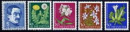SWITZERLAND 1960 Pro Juventute Set  MNH / **.  Michel 722-26 - Pro Juventute