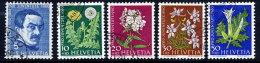 SWITZERLAND 1960 Pro Juventute Set  Used.  Michel 722-26 - Pro Juventute