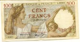 """* Dernière Date* 100 Francs   """"SULLY""""    23    4    1942       TTB/SUP  Env. - 1871-1952 Anciens Francs Circulés Au XXème"""