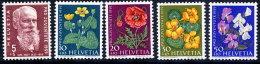 SWITZERLAND 1959 Pro Juventute Set  MNH / **.  Michel 687-91 - Pro Juventute