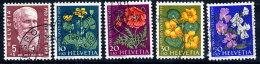 SWITZERLAND 1959 Pro Juventute Set Used.  Michel 687-91 - Pro Juventute