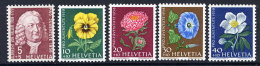 SWITZERLAND 1958 Pro Juventute Set MNH / **.  Michel 663-67 - Pro Juventute