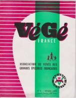 J L : Vieux  Papier:  Mag. épicerie  Végé 1959 ( Escaudrain, Ancinnes,blois,evreux, Ivvry,lille,morlaix,limoges) - Old Paper