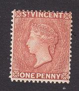 St Vincent, Scott #43, Mint No Gum, Queen Victoria, Issued 1883 - St.Vincent (...-1979)