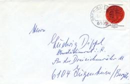 Germany BRD 1977 Cover With 50 Pf. 500th Anniversary Of Tübingen University - BRD