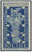 Yvert : N° 535 ; SASS N° 597 (o) 50l Biennale Venise MH * - 1946-60: Ungebraucht