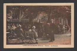 DF / 34  HERAULT / LAMALOU-LES-BAINS / CASINO -- LE KIOSQUE / ANIMÉE / CIRCULÉE EN 1928 - Lamalou Les Bains