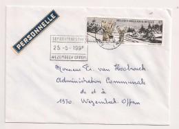 BRIEF LETTRE COB 2685 WEZEMBEEK-OPPEM - Briefe U. Dokumente