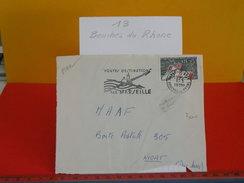 Marcophilie > Lettre > Flamme > 13 Bouches Du Rhône > Marseille - Route Destination - 1964 - - Marcofilie (Brieven)