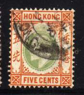 HONG KONG N° 65 OBLITERE COTE 7 € - Hong Kong (...-1997)