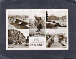 65488     Germania,   Grusse Aus Dem  Schonen Dusseldorf,  VG  1953 - Duesseldorf