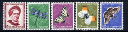 SWITZERLAND 1951 Pro Juventute Set  MNH / **.  Michel 561-65 - Pro Juventute