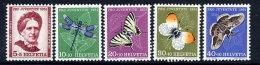 SWITZERLAND 1951 Pro Juventute Set  LHM / *.  Michel 561-65 - Pro Juventute