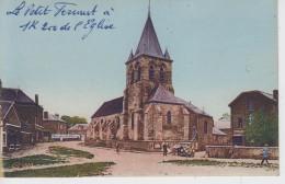 CPA Sainte-Geneviève - L'église - Sainte-Geneviève