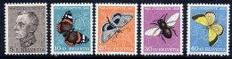 SWITZERLAND 1950 Pro Juventute Set  MNH / **.  Michel 650-54 - Pro Juventute
