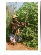 Cp - TIR A L'ARC - Rep. Centrafricaine Le Chasseur De La Mambere Kadei - Tir à L'Arc