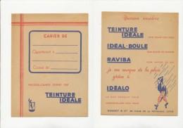 Publicité - Protege-Cahiers - TEINTURE IDEALE - Löschblätter, Heftumschläge