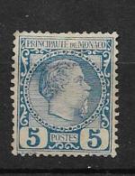 1885 Monaco, Neuf Sans Gomme - Ongebruikt
