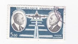 5 FRANCS - Poste Aérienne - Didier DORAT- Raymond VANIER - France