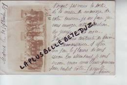 CPA - PHOTO - 37 - MOSNES - Photo  De Mariage Célébré 11 Septembre 1905 - Mariés Et Famille -  RARE - Autres Communes