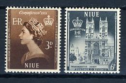 1953 - NIUE - Catg.. Mi. 85/86 - LH - (SAR3010.2) - Niue