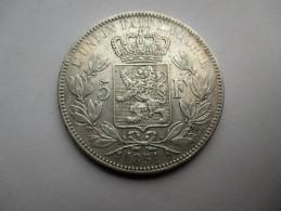 Belgie 5 Francs, 1851 - 1831-1865: Leopold I