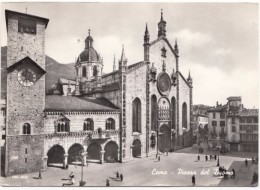 Italy, Como, Piazza Del Duomo, Unused Real Photo Postcard [19125] - Como