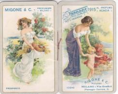 "CALENDARIETTO MIGONE""CRONOS"" MILANO AL PROFUMO ""ACACIA"" DONNINE  CHARME  2 SCANNER-2-882-26264-263 - Petit Format : 1901-20"