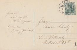 DR Karte EF Minr.85I KOS Leipzig-Stotteritz 1.1.12 - Briefe U. Dokumente