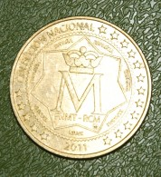 Monnaie De Collection Espagne - Palacio Real Madrid - 2011 - Spain