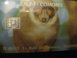 Télécarte Des Comores - Comores