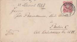 DR Brief EF Minr.41 KOS Oldenburg (Grossh.) 22.11.88 - Deutschland