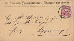 DR Brief EF Minr.33 Nachv. Stempel K2 Annen 7.7.75 Gel. Nach Lippspringe - Deutschland