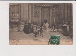 CPA - ROUEN - Le Jour Des Rameaux à L'Eglise St Saint Ouen - Rouen