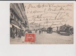 CPA - ROUEN - Les Quais ---------------- Tramway - Rouen